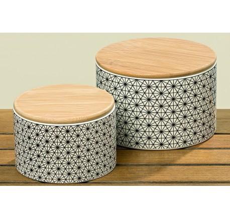 Boîte à Provisions Grès Petit Modèle - Art de la table - Lecomptoirdesauthentics