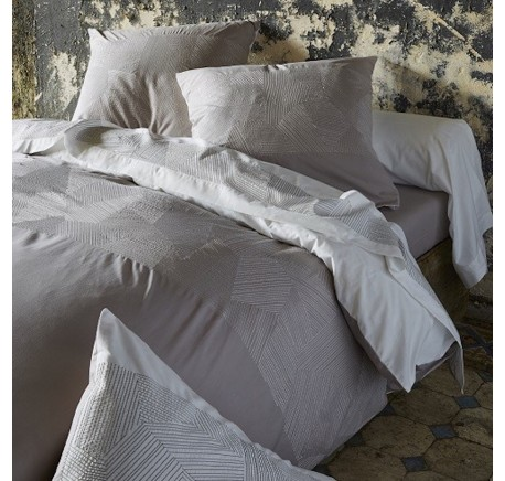 Housse de Couette SYLVIE THIRIEZ Collection EMPREINTES - Linge de maison - Lecomptoirdesauthentics