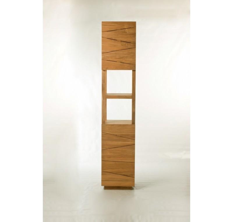 colonne senandung salle de bain teck massif mobilier de salle de bain meubles bois. Black Bedroom Furniture Sets. Home Design Ideas