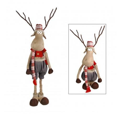 Figurine ELAN Debout Mâle Téléscopique HT85cm - Figurines, Statuettes - Lecomptoirdesauthentics