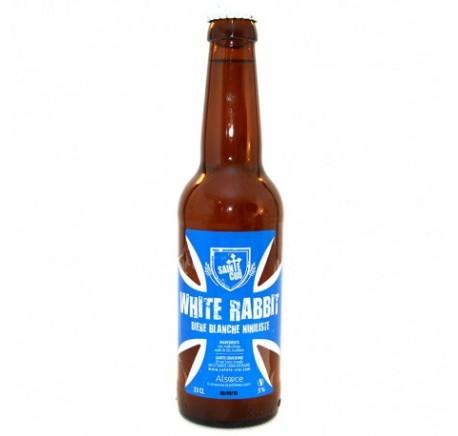 Bière SAINTE CRU White rabbit - Bière Artisanale - Lecomptoirdesauthentics