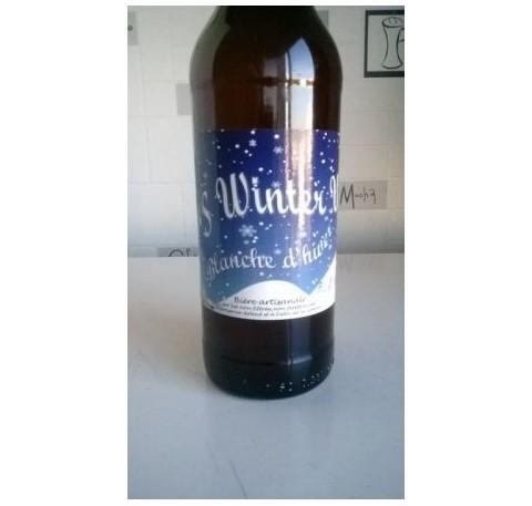 Bière La MERCIERE Winter Weiss