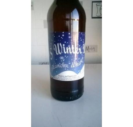 Bière La MERCIERE Winter Weiss - Bière Artisanale - Lecomptoirdesauthentics