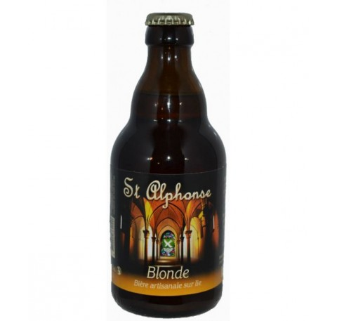 Bière St Alphonse Blonde  6.5%