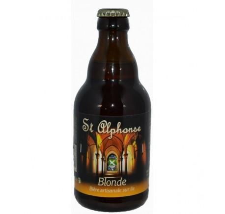 Bière Saint Alphonse Blonde  6.5% - Bière Artisanale - Lecomptoirdesauthentics