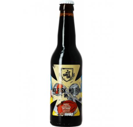 Bière SAINTE CRU No Risk No Fun - Bière Artisanale - Lecomptoirdesauthentics