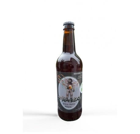 Bière LA NARCOSE L'Abyss noire Bio - Bière Artisanale - Lecomptoirdesauthentics