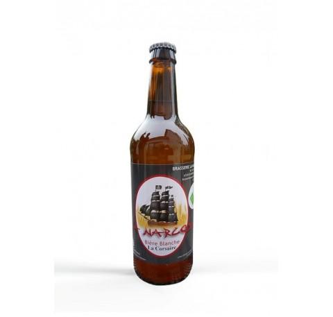 Bière LA NARCOSE La Corsaire blanche Bio