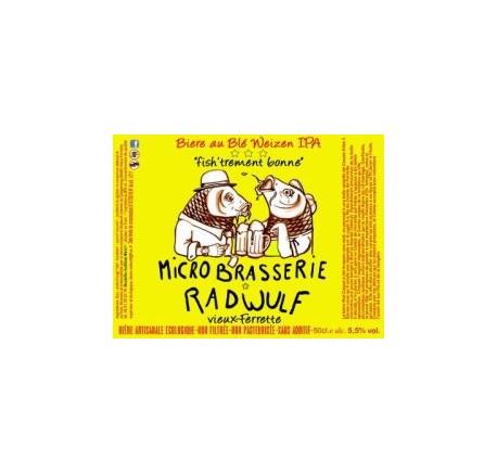 Bière RADWULF Yellow Carpet  - Bière Artisanale - Lecomptoirdesauthentics