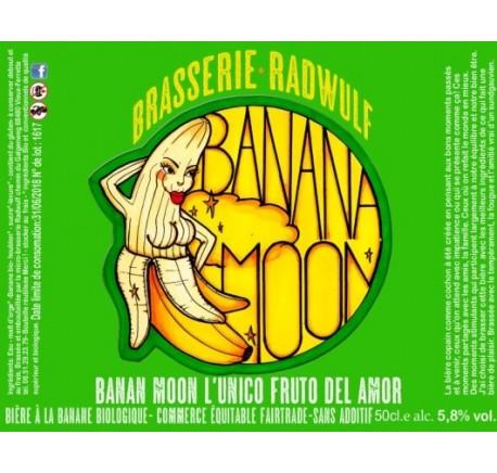 Bière RADWULF Banana Moon - Bière Artisanale - Lecomptoirdesauthentics