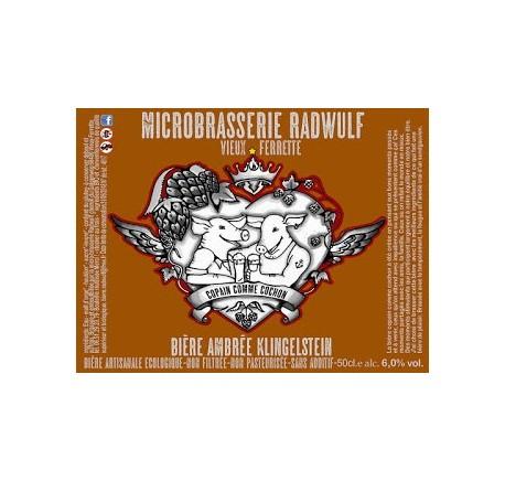 Bière RADWULF Klingenstein - Bière Artisanale - Lecomptoirdesauthentics