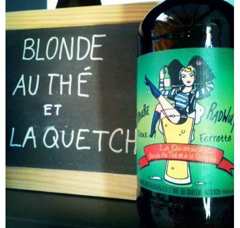 Bière RADWULF Blonde à la Quetsch