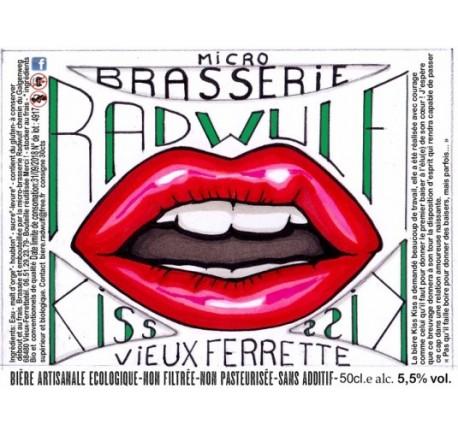 Bière RADWULF Kiss Kiss - Bière Artisanale - Lecomptoirdesauthentics