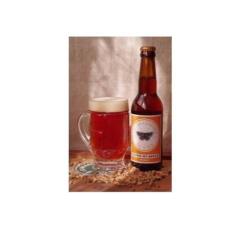 Bière RIED La Cuivrée des Marais Ambrée