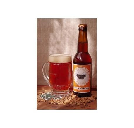 Bière RIED La Cuivrée des Marais Ambrée - Bière Artisanale - Lecomptoirdesauthentics