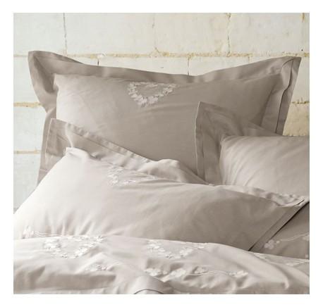 Taie d'Oreiller 65/65 SYLVIE THIRIEZ Collection LEOPOLDINE - Linge de lit - Chambre à coucher - Lecomptoirdesauthentics
