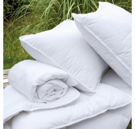Couette 200/200 Plumes et Duvet BILLERBECK Lit Simple - Linge de lit - Chambre à coucher - Lecomptoirdesauthentics