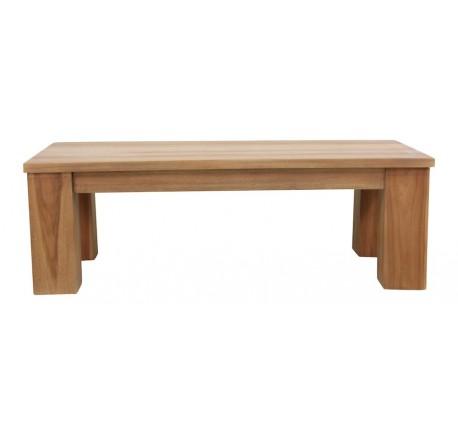 Table basse rectangle LIONA en teck - Table - Salle à manger - séjour - Lecomptoirdesauthentics