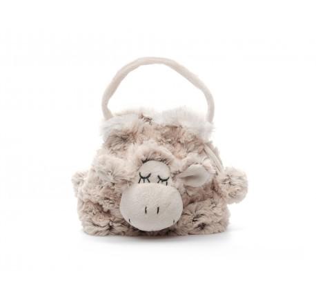 Petit Sac à main Mouton Ultra Doux - Peluche, doudou - Lecomptoirdesauthentics