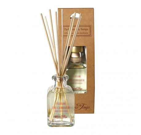 Diffuseur de Parfum d'Ambiance FLEUR DE COTON - LES LUMIERES DU TEMPS 100 ml - Diffuseur de parfum - Lecomptoirdesauthentics