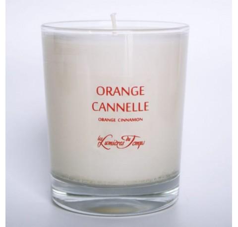 Bougie Végétale 90gr LES LUMIERES DU TEMPS Orange Cannelle