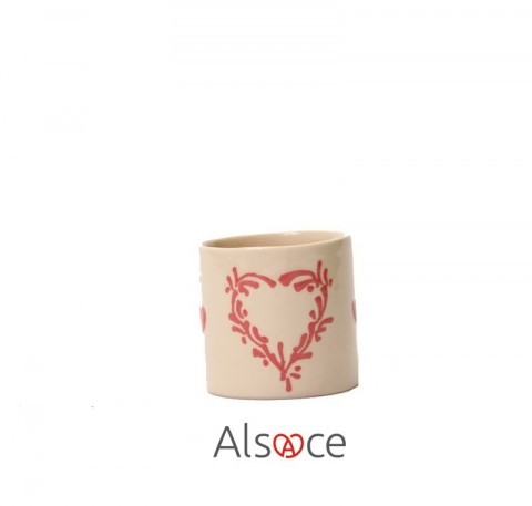 Tasse Expresso Taupe Poterie Artisanale ALSACE