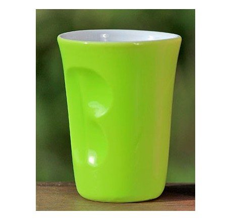 Mug LISA Vert 180 ml - Vaisselle - Lecomptoirdesauthentics