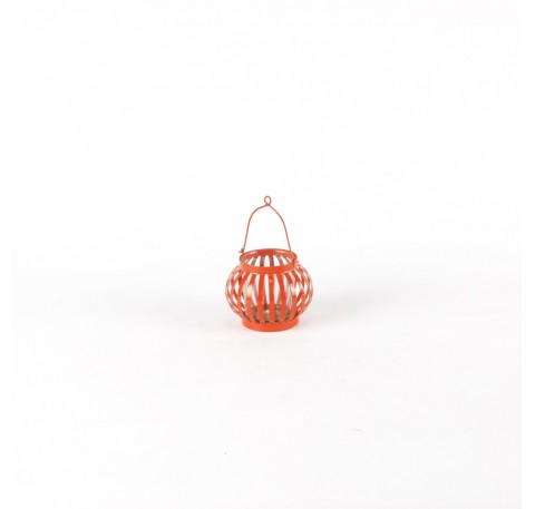 Mini Lanterne Terrasse Orange Foncé