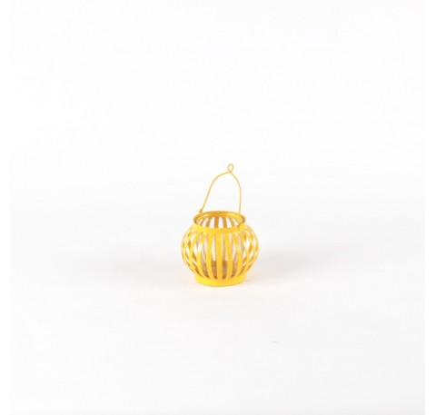 Mini Lanterne Terrasse Jaune