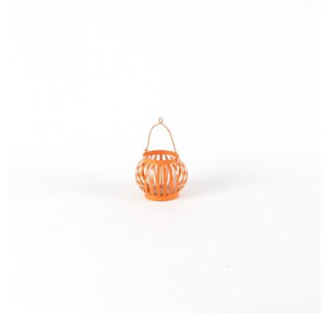 Mini Lanterne Terrasse Orange Clair