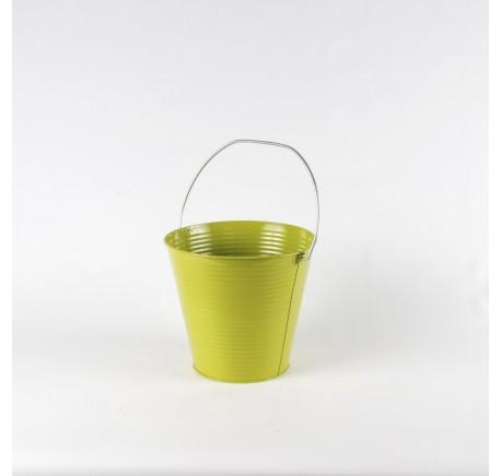 PETIT CACHE POT A PLANTE LAQUE VERT - Vase - Lecomptoirdesauthentics