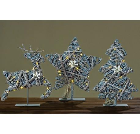 Décoration ELAN LED à poser Décoration de Noël - Décoration de Noël  - Lecomptoirdesauthentics