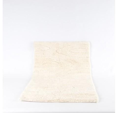 Tapis de bain écru 83x52