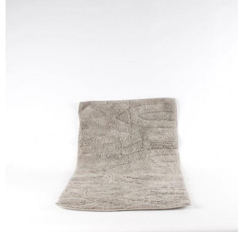 Tapis de bain gris 83x52