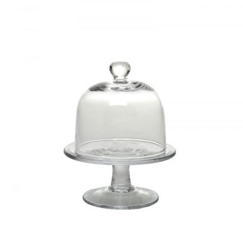 Plateau avec cloche en verre Service de Table.