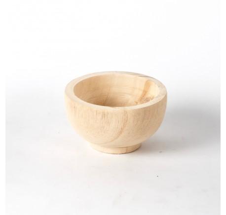 Coupe en bois Paulownia Diam. 13 cm -  - Lecomptoirdesauthentics