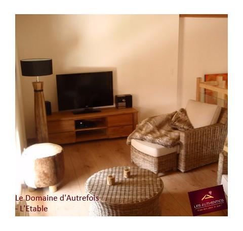 Meuble TV hifi LIONA en teck avec 4 tiroirs 170 x 50