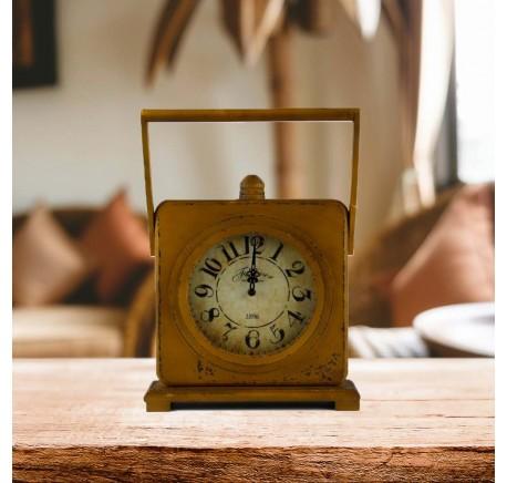 HORLOGE Vintage SECRET Jaune - Horloge - Lecomptoirdesauthentics