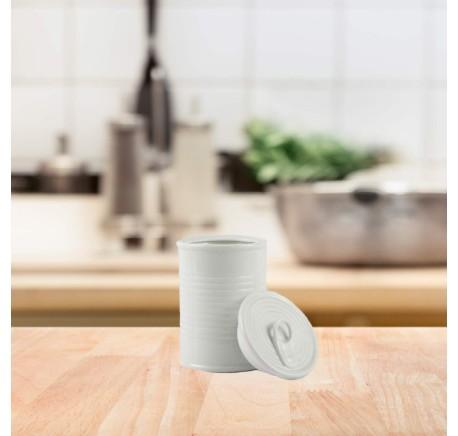 Conserve Sucrier Blanc 15.5 x 10 cm - Vaisselle - Lecomptoirdesauthentics