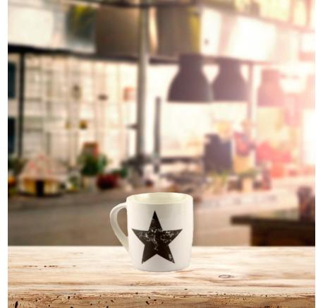 Mug ETOILE Stars Collection Etoile Grise. - Vaisselle - Lecomptoirdesauthentics