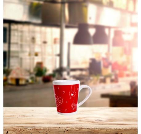 Mug COEUR Rouge - Vaisselle - Lecomptoirdesauthentics