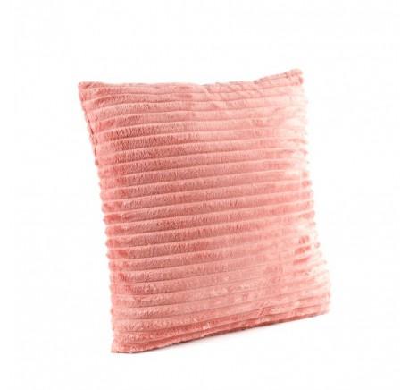 Coussin à côtes coloris rose - Coussins - Lecomptoirdesauthentics