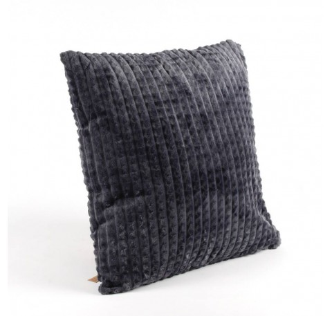 Coussin gris anthracite