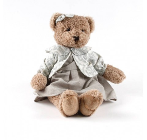 Peluche OURS fille 39 cm
