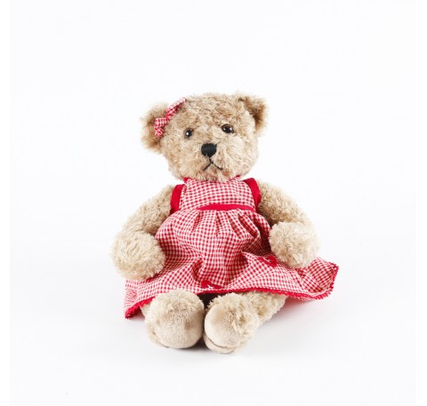 Faustine Peluche ours 30 cm