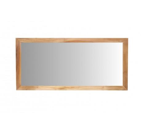 Miroir Teck Massif Salle de bain 140 cm - Salle de bain - Lecomptoirdesauthentics