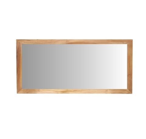 Miroir Teck Massif Salle de bain 105 cm