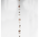Guirlande FORET ENCHANTEE en bois rouge  - Décoration de Noël  - Lecomptoirdesauthentics