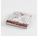 20 serviettes en papier 2 cerf blancs