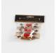 Set de 6 pinces à linge décoratives RENNE en bois  - Décoration de Noël  - Lecomptoirdesauthentics